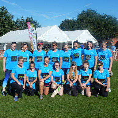 NMA sponsors Brixworth Ladies Cricket Club