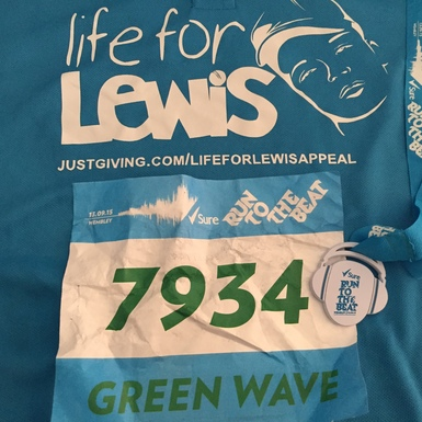 Tony Young fundraising for 'Life for Lewis' Appeal
