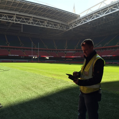 NMA joins national team to survey Rugby World Cup 2015 venues