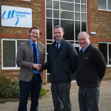 New Uppingham Surgery proves great success!